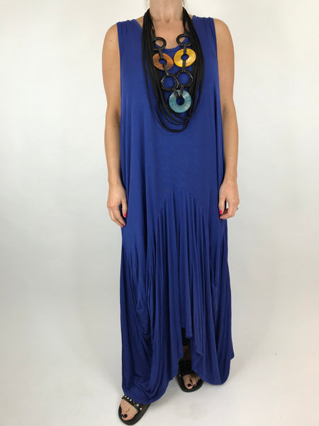 Lagenlook Molly Jersey Essential in Royal Blue. code 9873
