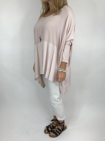 Lagenlook Anne Swish Top in Pale Pink. code 5645