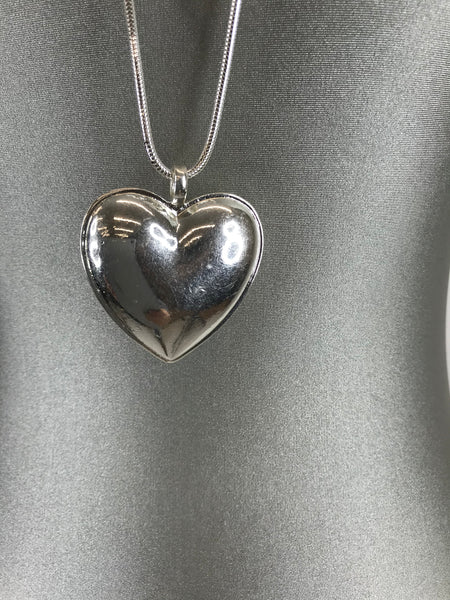 Lagenlook Large heart long necklace. code N50721