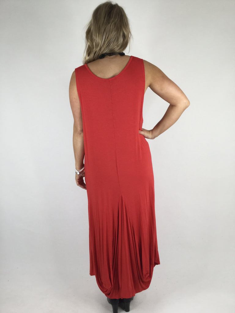 Lagenlook Molly Jersey Essential in Red. code 9873
