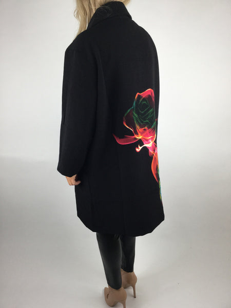 NESLAY Flame Jacket In Black. code A1516