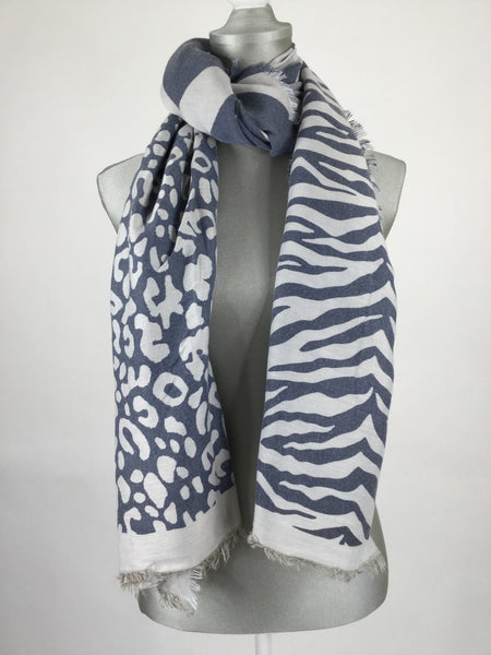 Lagenlook Animal Printed Scarf.
