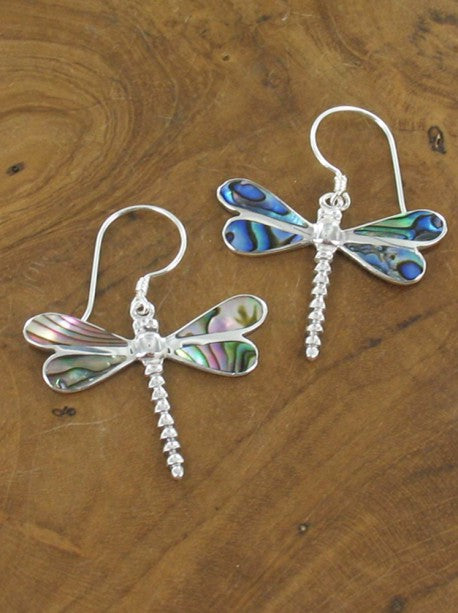 Lagenlook Dargonfly Earrings .925 Silver. code MM6410P