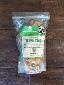 Beef 'Tripe Chips' Half-Pound Bag