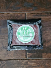 Load image into Gallery viewer, Raw Wild Game Food