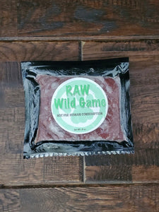 Raw Wild Game Food