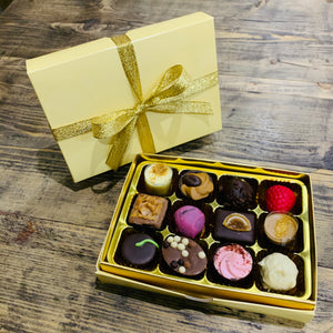 12 Luxury Belgian chocolates