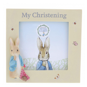 Peter Rabbit Photo Frame - My Christening