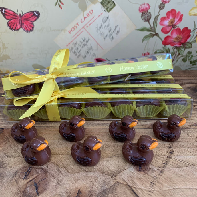 Belgian Chocolate Praline Easter Ducks