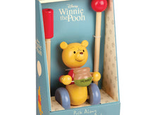 Load image into Gallery viewer, Orange Tree Winnie the Pooh Push Along Toy