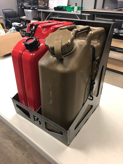 Dual Jerry Can Carrier