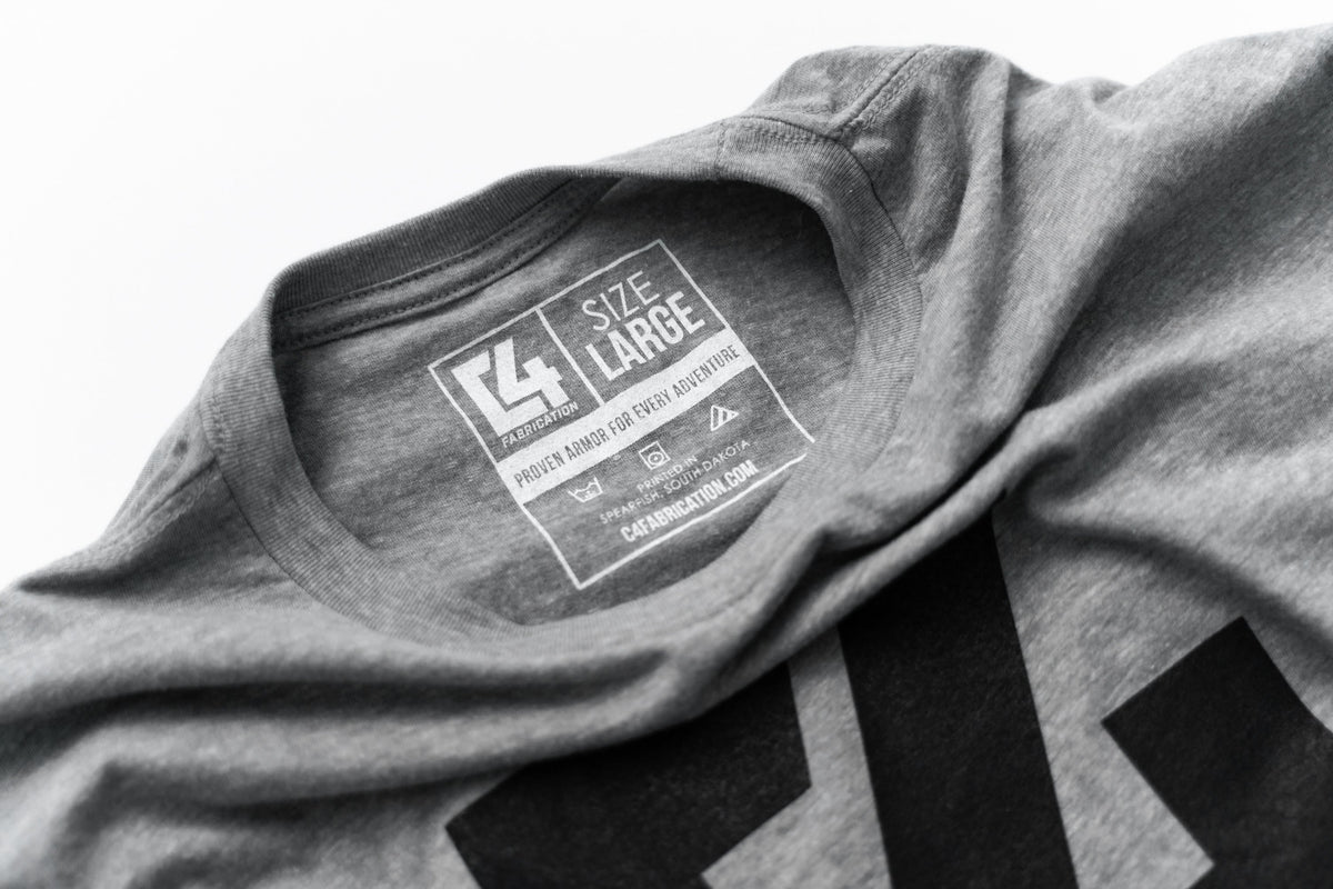 C4 Logo Heather Grey Shirt