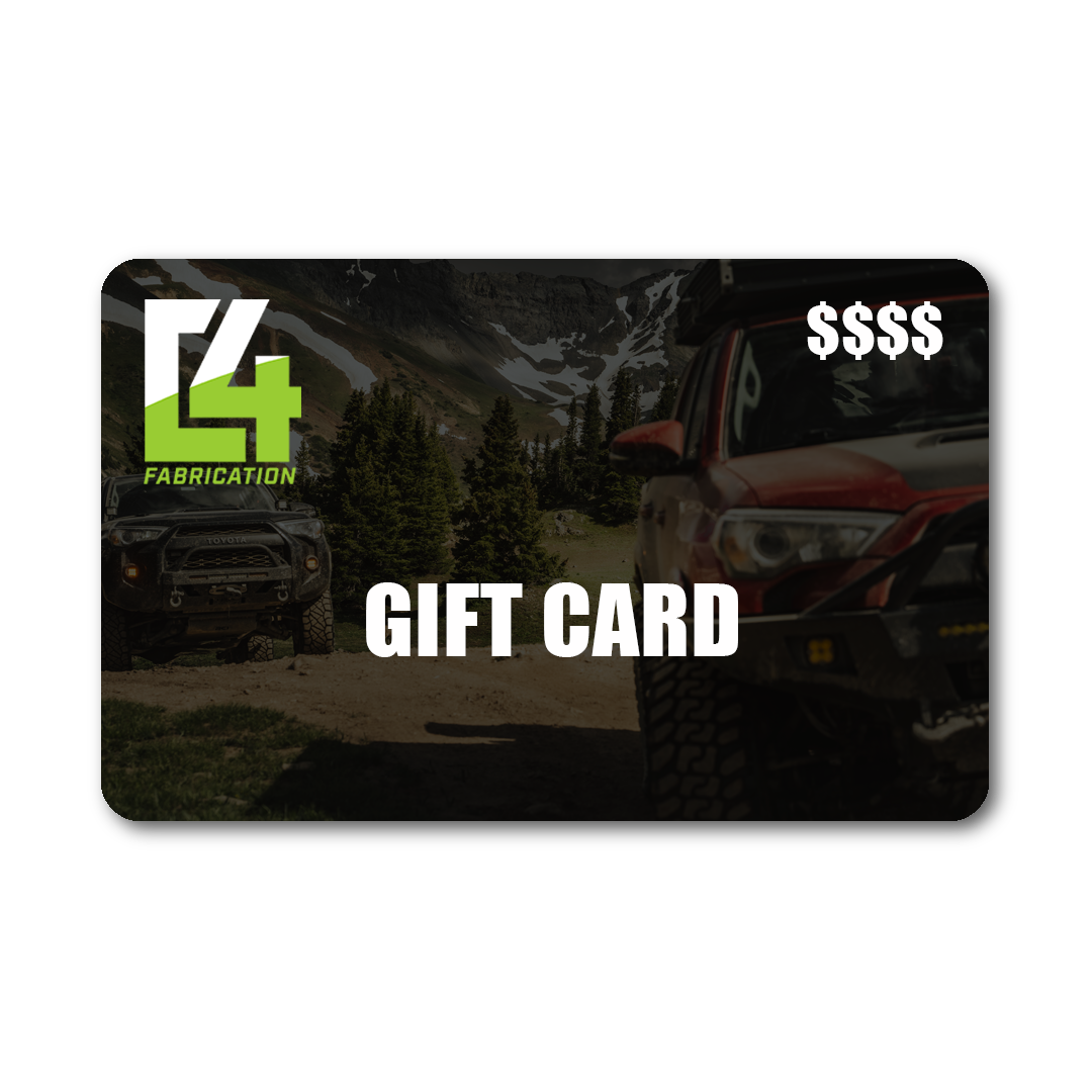C4 Fabrication Gift Card