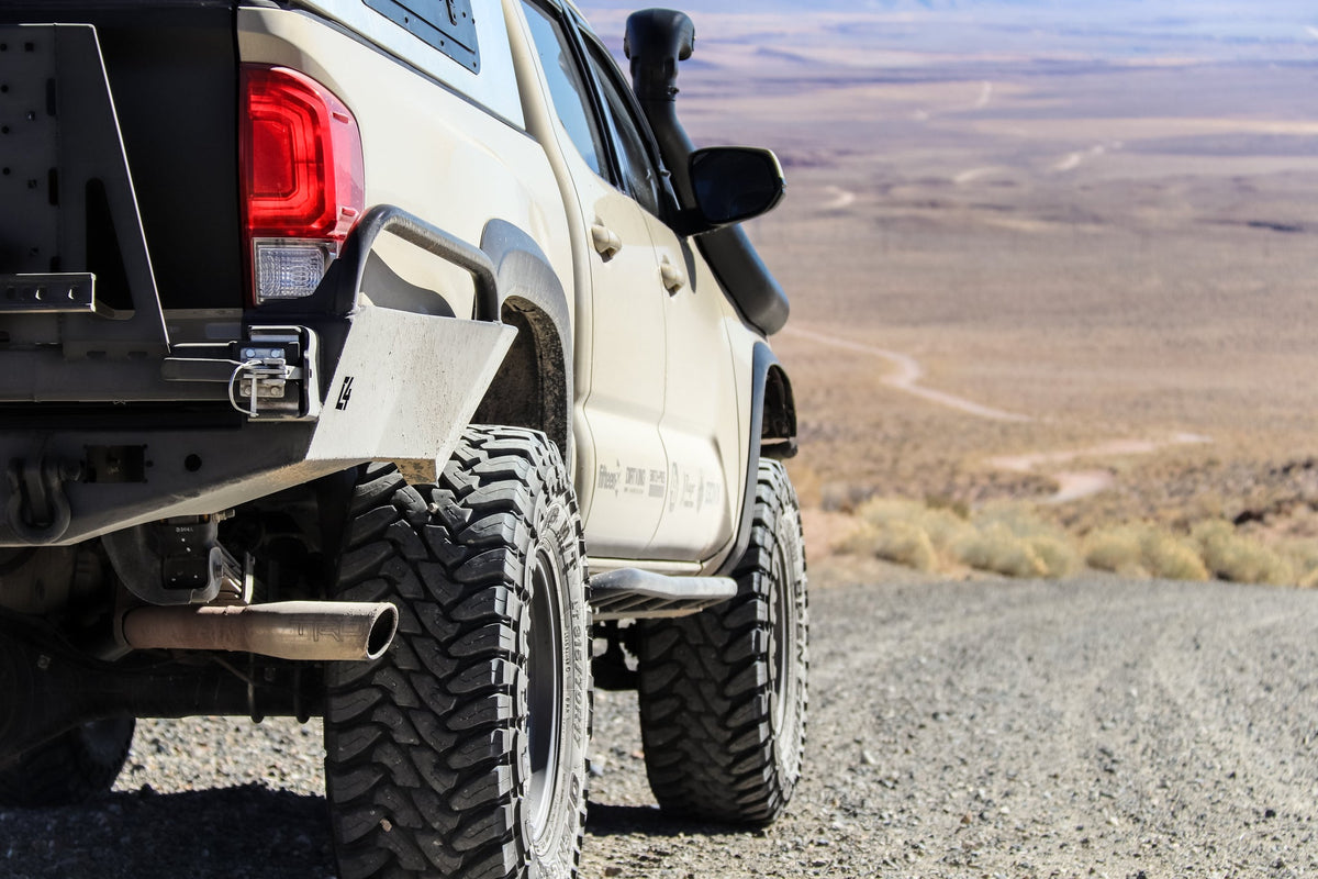 Tacoma Overland Series High Clearance  Rear Bumper / 3rd Gen / 2016+