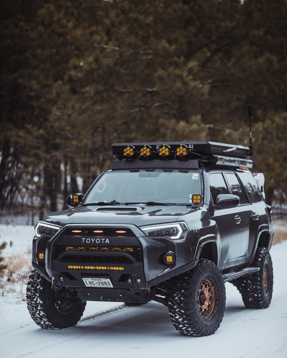 4Runner Lo Pro Bumper High Clearance Additions / 5th Gen / 2014+