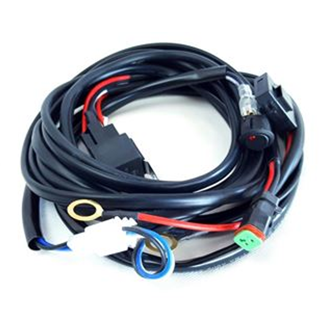 Extreme LED Wiring Harness With DT Connector - 1 Light