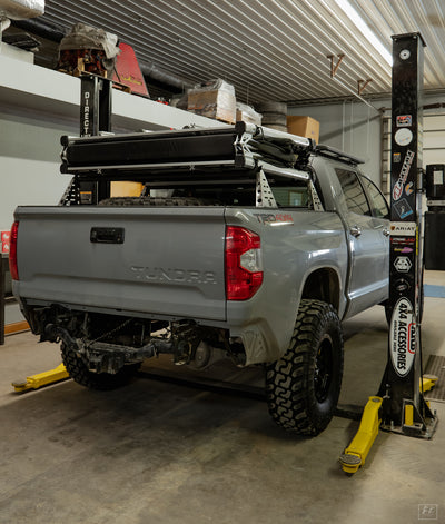 Tundra Mid-Height Bed Rack - 2007+