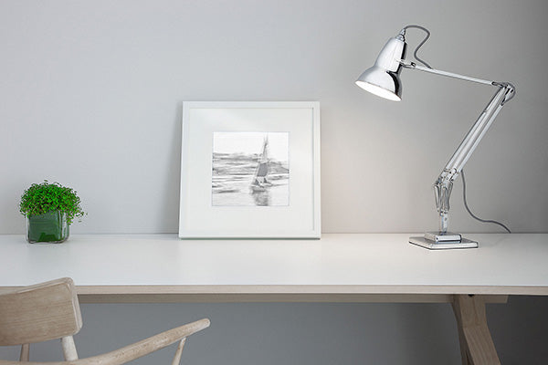 Anglepoise Original 1227 desk lamp on a table