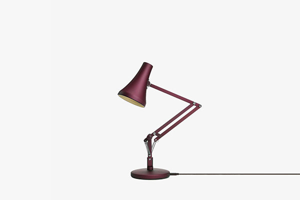 Anglepoise 90 Mini Mini Desk Lamp in Berry