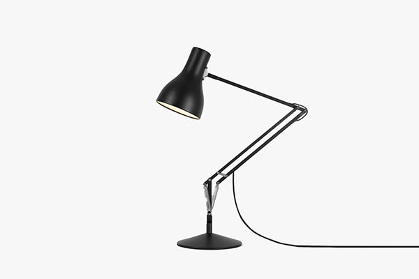 Anglepoise Type 75 Desk Lam in Jet Black