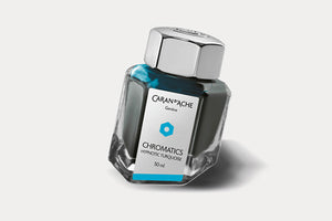 CARAN D'ACHE Chromatics Bottled Ink (50ml) - Hypnotic Turquoise