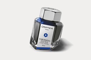 CARAN D'ACHE Chromatics Bottled Ink (50ml) - Idyllic Blue