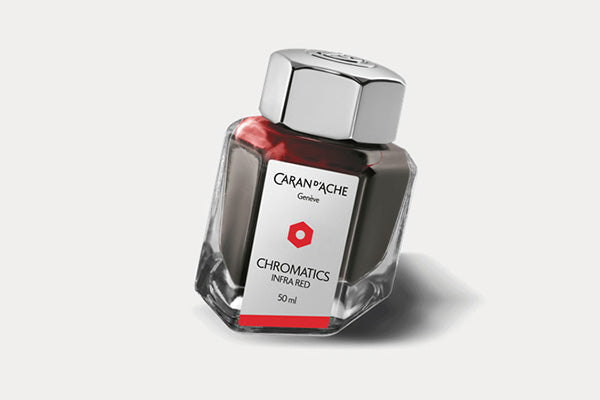 CARAN D'ACHE Chromatics Bottled Ink (50ml) - Infra Red