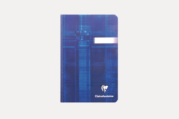 CLAIREFONTAINE Basics Clothbound (11x17 cm) Notebook - Lined