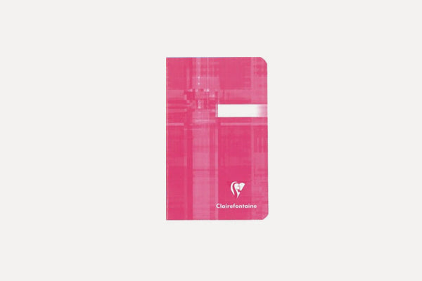 CLAIREFONTAINE Basics Staplebound (9x14 cm) Notebook - Lined