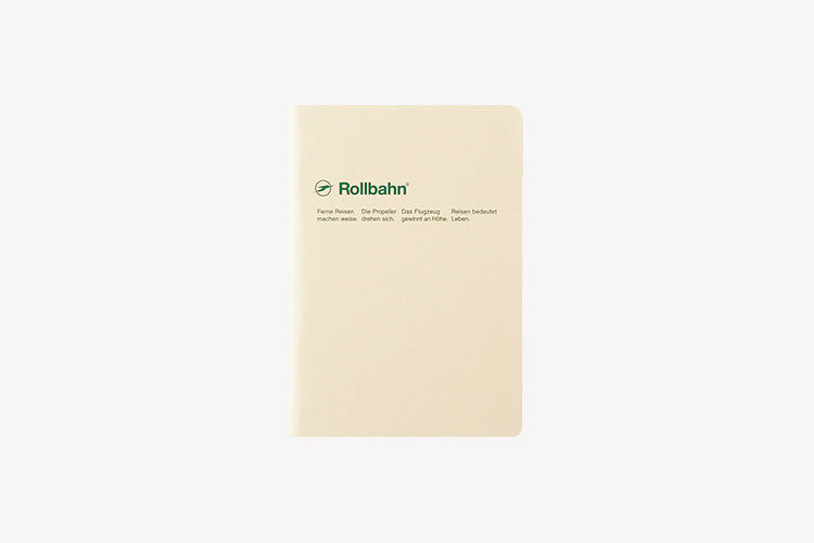 DELFONICS Rollbahn 'Note' Staple-bound (A6) Notebook - Grid