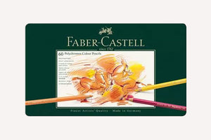 FABER CASTELL Polychromos Colour Pencils Set