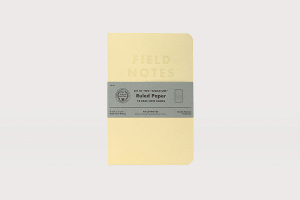 FIELD NOTES Signature Notebook - Ruled