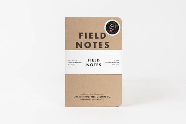 FIELD NOTES Kraft Pocket Notebooks - Tenth Anniversary Edition