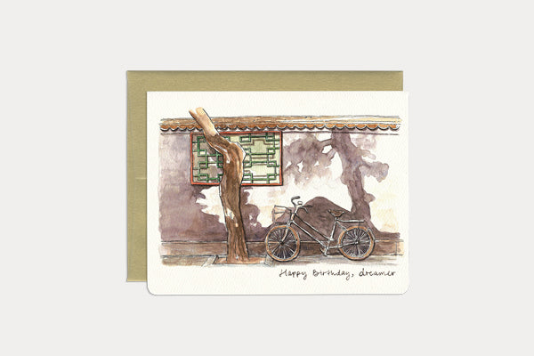 GOTAMAGO Greeting Card - Happy Birthday, Dreamer