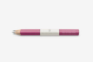 GRAF VON FABER CASTELL Guilloche Graphite Pencil - Electric Pink