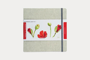 "HAND BOOK PAPER CO. Travelogue Watercolour Journal (8.25 x 8.25"")"