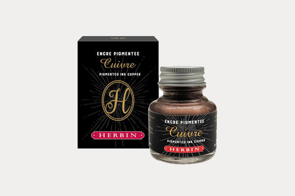 J. HERBIN Pigmented Ink (30ml) - Copper