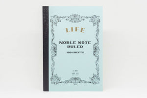 LIFE STATIONERY Noble Note (A5) Notebook - Lined
