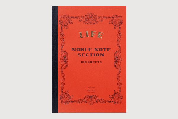 LIFE STATIONERY Noble Note (A4) Notebook - Grid