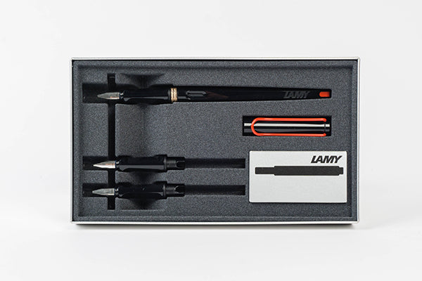 LAMY Joy Fountain Pen Calligraphy Set - Black