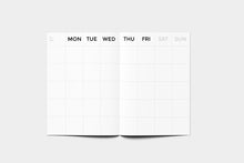 Load image into Gallery viewer, OCTAGON (Small) Timeless Monthly Planner
