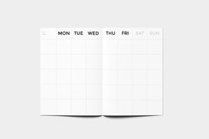 OCTAGON (Small) Timeless Monthly Planner