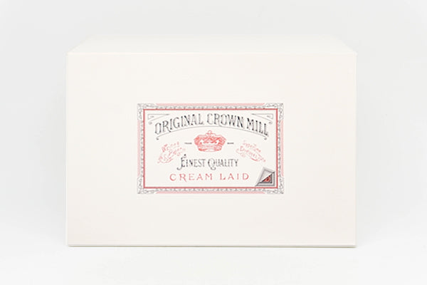 ORIGINAL CROWN MILL Classic Laid European Letter Presentation Box