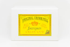ORIGINAL CROWN MILL Classic Laid Notecard Presentation Box