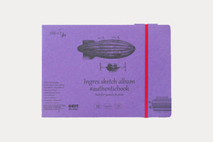SM.LT ART Authenticbook Sketch Album - Ingres Paper