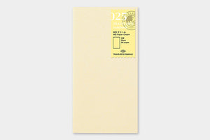 TRAVELER'S COMPANY Traveler's Notebook Insert (Regular) - 025 MD Paper Cream