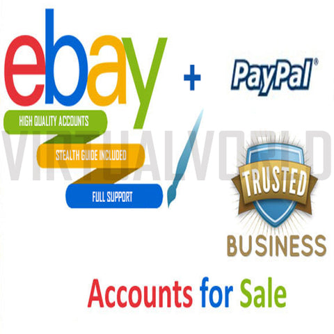EBAY STEALTH ACCOUNTS STARTING LIMIT 100000 ITEMS - Virtual Vorld