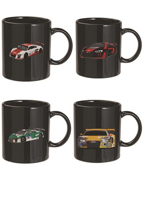 Audi Sport Ceramic Mug Set Of 4