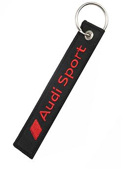 Audi Sport Secure Before Launch Keychain