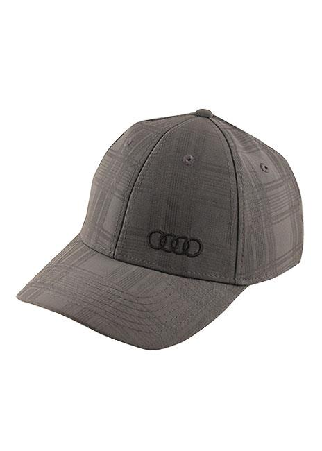 Audi Tonal Plaid Pattern Hat